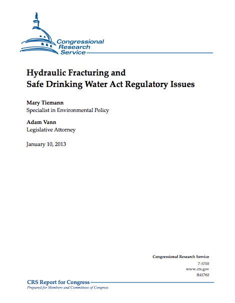 hydraulic fracturing must be reformed essay