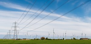 Wind_Turbines_and_Power_Lines,_East_Sussex,_England_-_April_2009