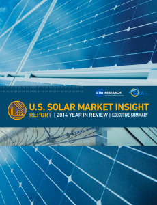 U.S. Solar Market Insight Report: 2014 Year in Review, Executive Summary