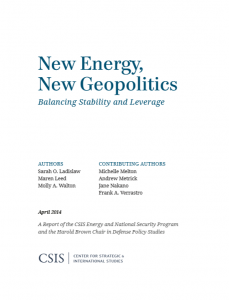 New Energy, New Geopolitics Balancing Stability and Leverage