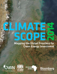 Climatescope 2014: Mapping the Global Frontiers for Clean Energy Investment