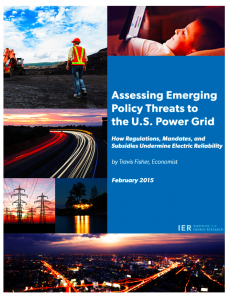 Assessing Emerging Policy Threats to the U.S. Power Grid: How Regulations, Mandates, and Subsidies Undermine Electric Reliability