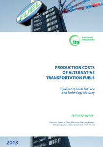 Production Costs of Alternative Transportation Fuels: Influence of Crude Oil Price and Technology Maturity