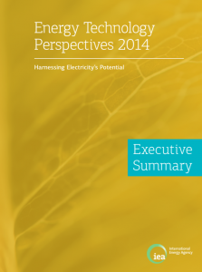 Energy Technology Perspectives 2014: Harnessing Electricity's Potential, Executive Summary