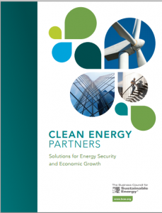 Clean Energy Partners: Solutions for Energy Security and Economic Growth