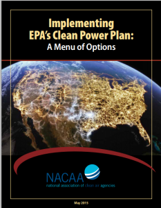 Implementing EPA's Clean Power Plan: A Menu of Options