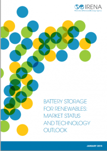 Battery Storage for Renewables: Market Status and Technology Outlook