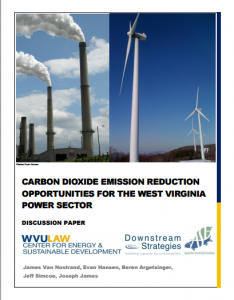 Carbon Dioxide Emission Reduction Opportunities for the West Virginia Power Sector