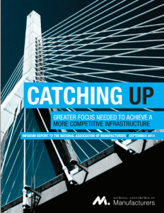 Catching Up: Greater Focus Needed to Achieve a More Competitive Infrastructure