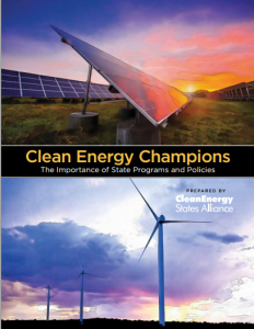Clean Energy Champions: The Importance of State Programs and Policies