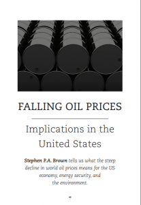 Falling Oil Prices: Implications in the United States