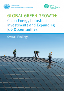 Global Green Growth: Clean Energy Industrial Investments and Expanding Job Opportunities