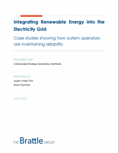 Integrating Renewable Energy into the Electricity Grid: Case Studies Showing How Technologies and Operations are Maintaining Reliability