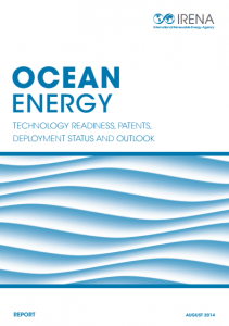 Ocean Energy: Technologies, Patents, Deployment Status and Outlook