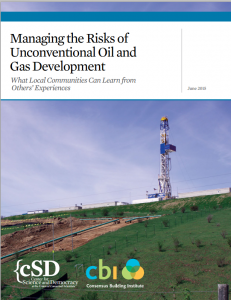 How Communities Can Manage Fracking Risks