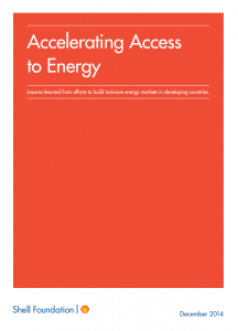 Accelerating Access to Energy