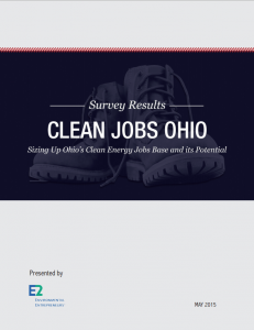 Clean Jobs Ohio: Sizing Up Ohio's Clean Energy Jobs Base and It's Potential