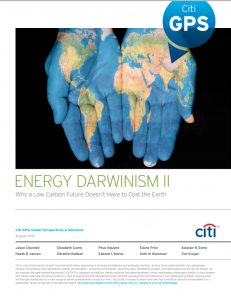 Energy Darwinism II: Why a Low Carbon Future Doesn't Have to Cost the Earth