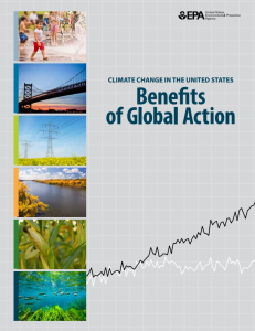 Climate Change in the U.S. – Benefits of Global Action Share