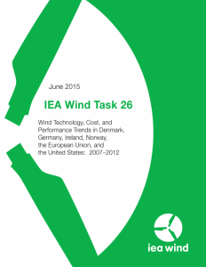 IEA Wind Task 26: Wind Technology, Cost, and Performance Trends in Denmark, Germany, Ireland, Norway, the European Union, and the United States: 2007–2012