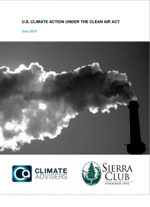 U.S. Climate Action Under the Clean Air Act