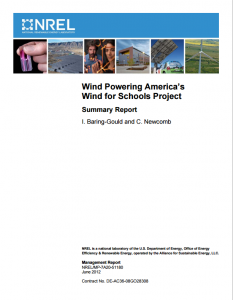 Wind Powering America's Wind for Schools Project