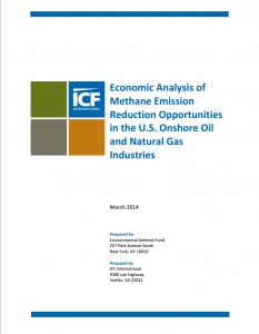 Economic Analysis of Methane Emission Reduction Opportunities in the U.S. Onshore Oil and Natural Gas Industries