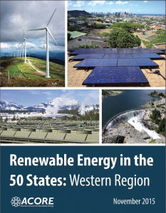 Renewable Energy in the 50 States: Western Region