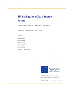 Bill Savings in a Clean Energy Future: Clean Power Means Lower Bills for States
