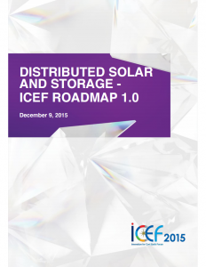 Distributed Solar and Storage – ICEF Roadmap 1.0