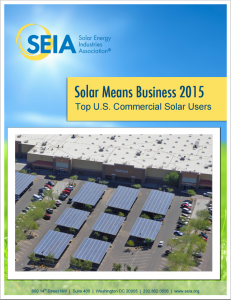 Solar Means Business 2015: Top U.S. Commercial Solar Users