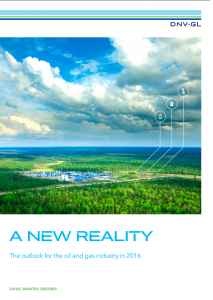 A New Reality – The Outlook for the Oil and Gas Industry in 2016