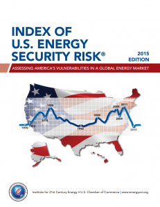 Index of U.S. Energy Security Risk: Assessing America's Vulnerabilities in a Global Energy Market – 2015 Edition