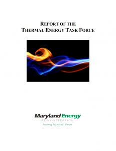 Report of the Thermal Energy Task Force