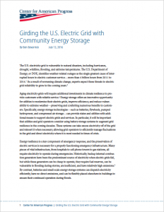 Girding the U.S. Electric Grid with Community Energy Storage