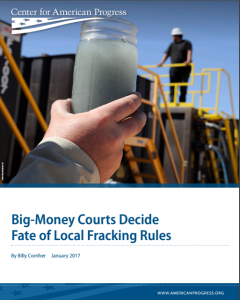 Big-Money Courts Decide Fate of Local Fracking Rules