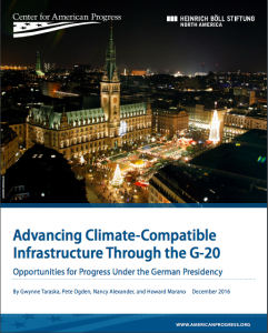 Advancing Climate-Compatible Infrastructure Through the G-20