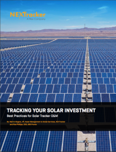 Tracking Your Solar Investment: Best Practices for Solar Tracker O&M