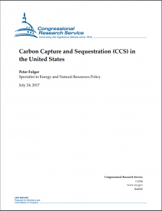 Carbon Capture and Sequestration (CCS) in the United States
