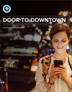 Door-To-Downtown How Boulder, Colorado, Tested The Future Of Mobility