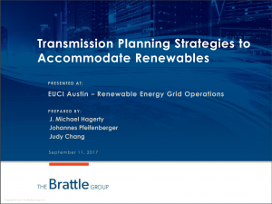 Transmission Planning Strategies to Accommodate Renewables