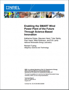 Enabling the SMART Wind Power Plant of the Future Through Science-Based Innovation