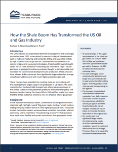 How the Shale Boom Has Transformed the US Oil and Gas Industry