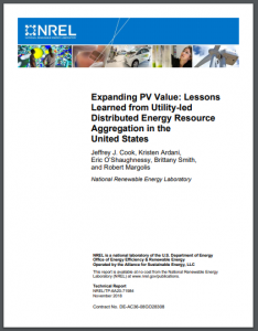 Expanding PV Value: Lessons Learned from Utility-led Distributed Energy Resource Aggregation in the United States