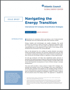 Navigating the Energy Transition