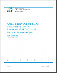 Annual Energy Outlook (AEO) Retrospective Review: Evaluation of AEO2018 and Previous Reference Case Projections