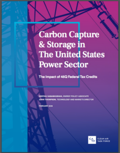 Carbon Capture & Storage in the United States Power Sector