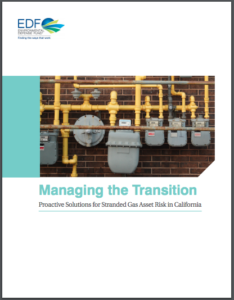 Managing the Transition Proactive Solutions for Stranded Gas Asset Risk in California