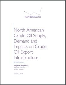 North American Crude Oil Supply, Demand and Impacts on Crude Oil Export Infrastructure