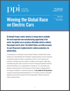 Winning the Global Race on Electric Cars